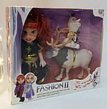 """Кукла в наборе для девочки """"Холодное Сердце"""", игрушка Олень Свен и снеговик Олаф Disney Frozen Н3, фото 3"""