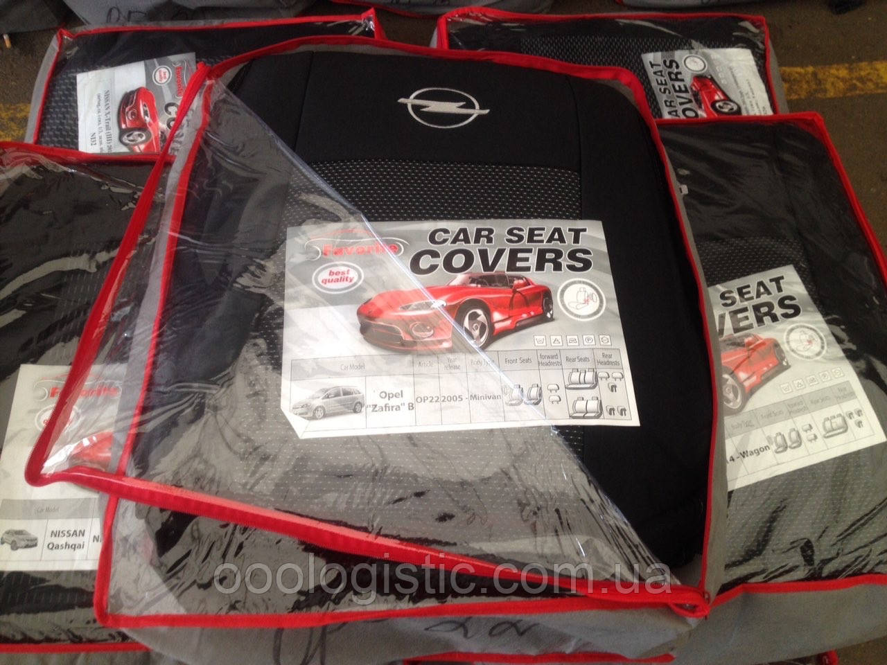 Авточехлы  на Opel Zafira B 2005>(7 мест)минивэн