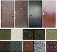 Металлические двери в частный дом. Качественное полимерное покрытие.