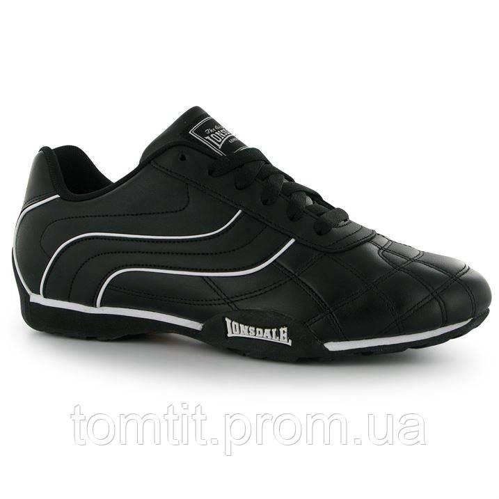 Кожаные кроссовки Lonsdale, оригинал, для подростка, размер 39, длина стельки 25,5 см (на ногу 24,5 см)