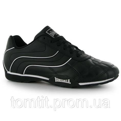 Кожаные кроссовки Lonsdale, оригинал, для подростка, размер 39, длина стельки 25,5 см (на ногу 24,5 см), фото 2