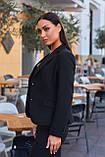 Пиджак женский черный, фото 3