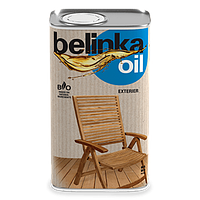 Масло для древесины (био пропитка) для наружных работ Belinka oil exterier 2.5 л.