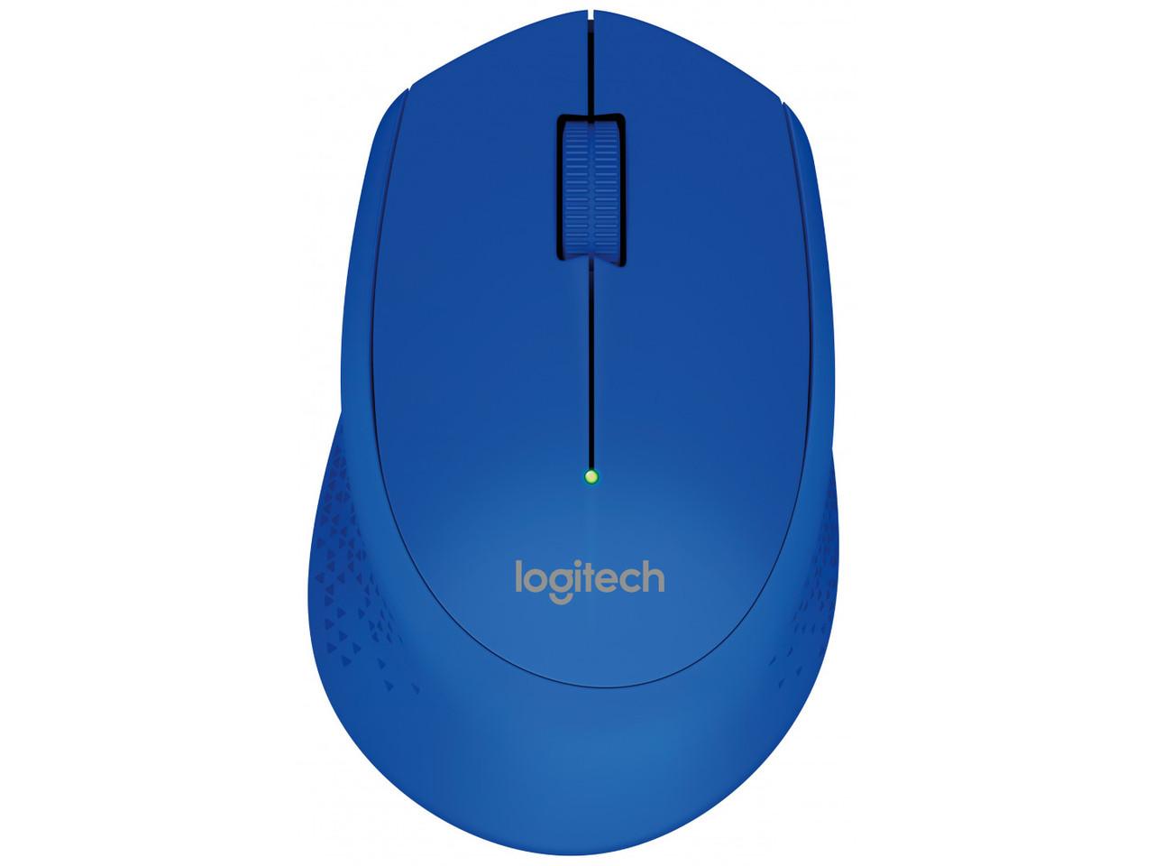 Мышь Logitech M280 беспроводная, 1000dpi, USB, синий (910-004294/910-004290)