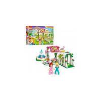 Конструктор BRICK 2602 розовая серия, сад, фонтан, фигурки, 261дет, в кор-ке,32,5-22-6см(BRICK 2602)