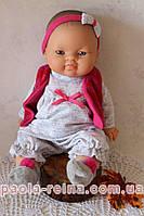 Лялька пупс Горді Бланка в теплому одязі, 34 см, фото 1