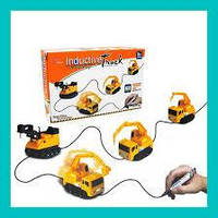 Игрушечный автомобиль Inductive truck индуктивная машинка для ребёнка на подарок