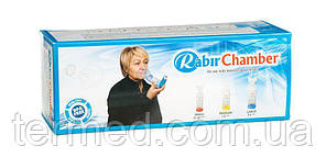 Спейсер Rabir Chamber з маскою для дітей від 5 років. 240 мл Orjinal Medikal
