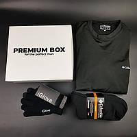 Мужское термобелье Columbia, термо комплект, Сенсорные перчатки iGlove, термо носки в подарочной коробке видео