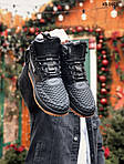 Чоловічі кросівки Nike LF1 Duckboot (чорно-коричневі) ЗИМА KS 1601, фото 7