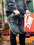 Чоловічі кросівки Nike LF1 Duckboot (чорно-коричневі) ЗИМА KS 1601, фото 6