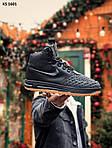 Чоловічі кросівки Nike LF1 Duckboot (чорно-коричневі) ЗИМА KS 1601, фото 3