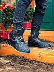 Чоловічі кросівки Nike LF1 Duckboot (чорно-коричневі) ЗИМА KS 1601, фото 9
