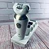 Эпилятор Gemei GM-7005 5в1 - Профеcсиональный женский беспроводной эпилятор бритва с насадками, аккумуляторный, фото 2