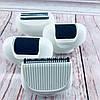 Эпилятор Gemei GM-7005 5в1 - Профеcсиональный женский беспроводной эпилятор бритва с насадками, аккумуляторный, фото 4