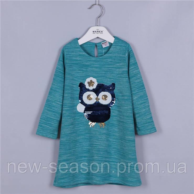 Платье с длинным рукавом 92-122 Wanex EL-2-40468