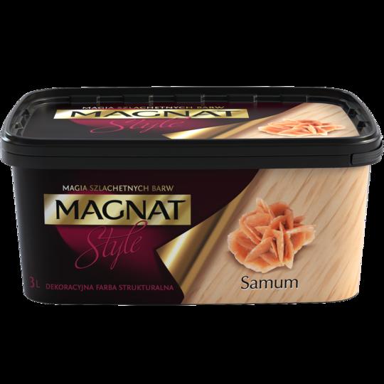 Краска декоративная структурная Magnat Style Samum 3 л