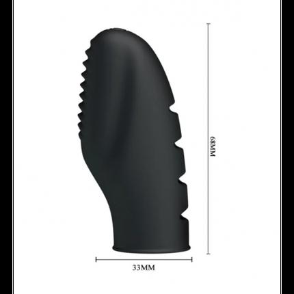 Насадка на палец  Pretty Love Stanford для стимуляции клитора и точки G, фото 2