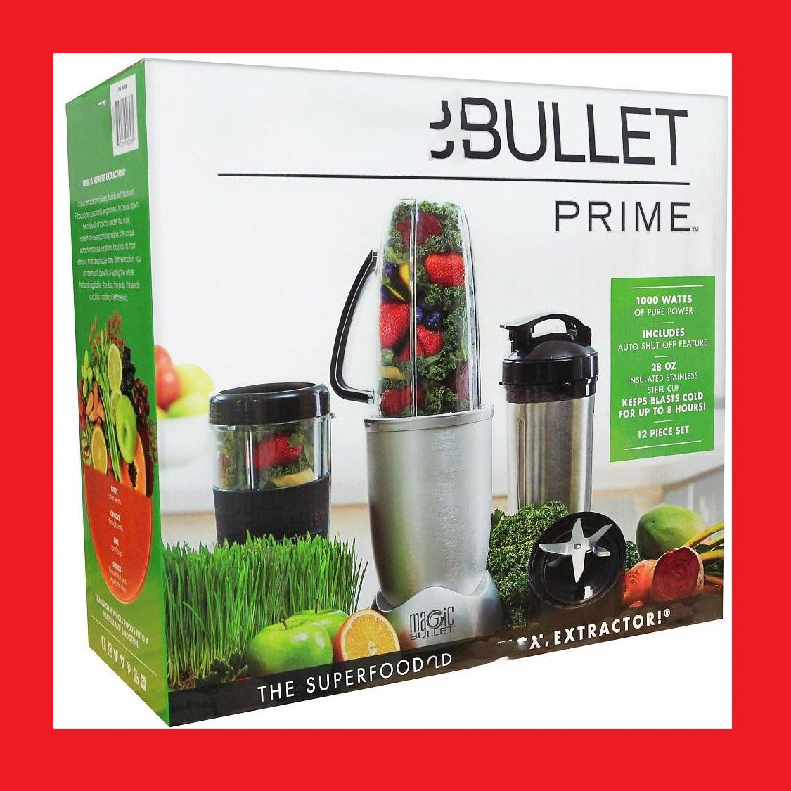 Magic Bullet Prime 1000W Кухонный комбайн