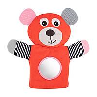 Canpol babies плюшева іграшка-рукавичка з прорізувачем BEAR, фото 1