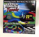 Детский автотрек Magic Tracks Mega Set 220 деталей + 2 машинки -  подарок для мальчика, фото 2