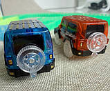 Детский автотрек Magic Tracks Mega Set 220 деталей + 2 машинки -  подарок для мальчика, фото 4