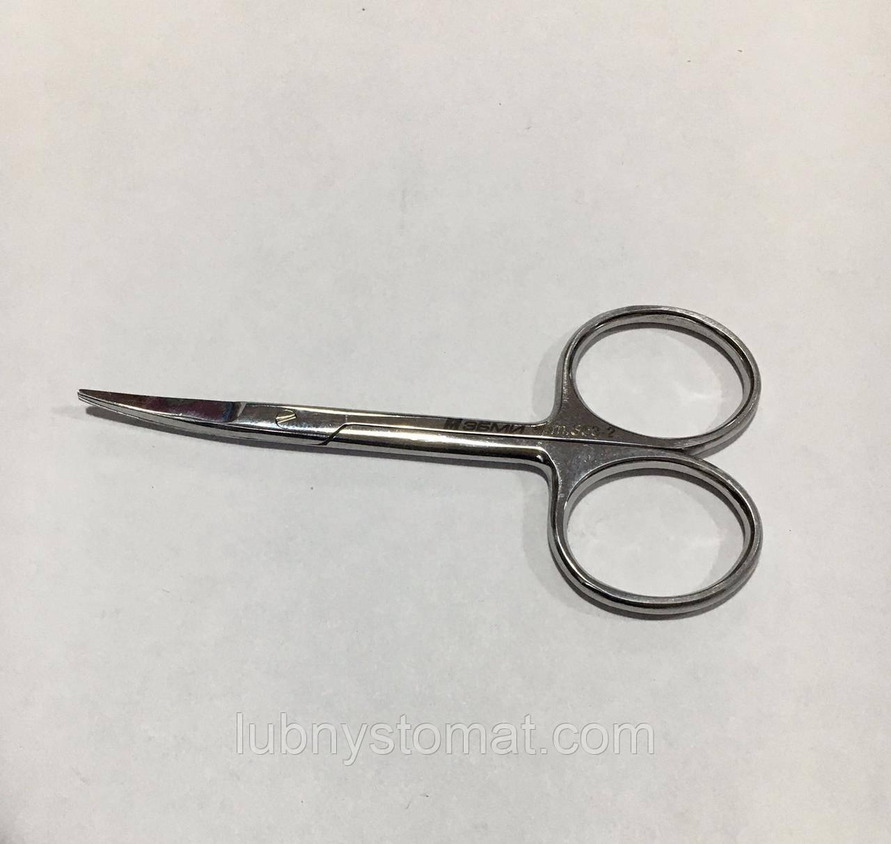 Ножницы остроконечные вертикально изогнутые 100мм