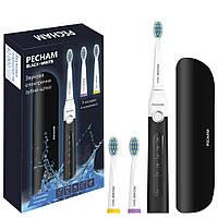 Электрическая зубная щетка PECHAM Black-White Travel