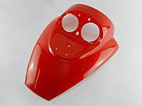Пластик передний (Клюв) Grand Prix (хоккеист) под двойную фару (красный), фото 1