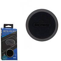 Автодержатель для телефона магнитный Remax RM-C30 таблетка Black