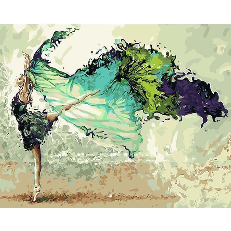 """Картина по номерам 40*50 см """"Волшебный танец"""""""