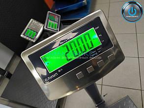 Весы товарные усиленные 300кг Олимп К2-1Д