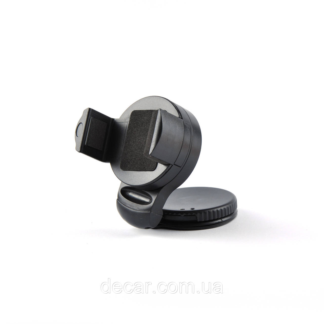 """Автодержатель для телефона """"Откидная ножка """"MINI B  на присоске 360°  black"""