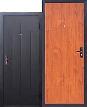 Вхідні двері GARDA Стройгост 5-1 Метал/ хдф Золотий дуб