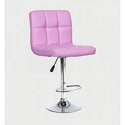 Стул для визажиста Ukrestet, розовый, HC8052-1, барный
