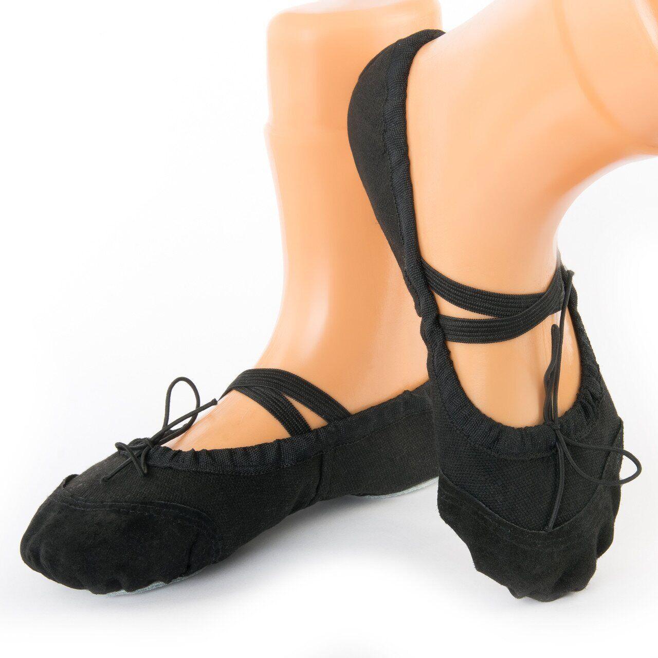 Чёрные балетки для детей подростков взрослых, 24 р.-43 р.