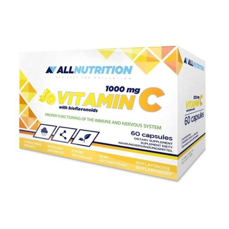 All Nutrition Vitamin C 1000 Mg + Bioflaw - (60 капс.)