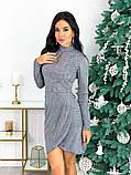 Женское нарядное платье с 42 по 48 рр трикотаж рюлекс, фото 3