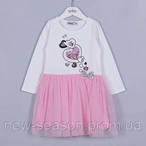Платье с длинным рукавом 92-122 Wanex EL-2-40832