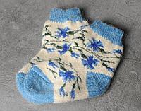 Шерстяные носки детские , длина 13-16 см, фото 1