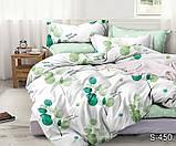 Полуторный комплект постельного белья из хлопка Полуторний комплект постільної білизни 1.5-спальный S450, фото 3
