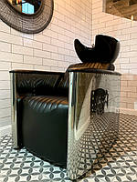 Парикмахерская мойка для парикмахерских салонов, мойка Infinity с креслом Lux для салона красоты