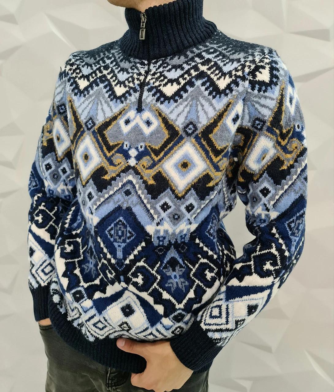 Чоловічий теплий светр