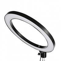 Професійна кільцева світлодіодна LED лампа UKC Professional Live Stream з тримачем для телефону