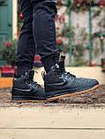 Nike LF1 Duckboot (черно/коричневые) ЗИМА cas, фото 4