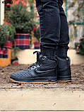 Nike LF1 Duckboot (черно/коричневые) ЗИМА cas, фото 7