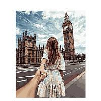 "Картина по номерам 40*50 см ""Свидание в Лондоне"", фото 1"