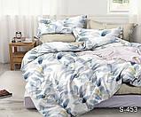 Полуторный комплект постельного белья из хлопка Полуторний комплект постільної білизни 1.5-спальный S453, фото 2