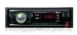 "Магнитола-FM - ""SIGMA"" - CP-50G - (Black/Green)/USB/SD/4x40W"
