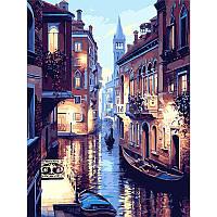 """Картина за номерами 40*50 см без підрамника """"Вулиця Венеції"""", фото 1"""
